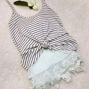 Pimkie Collection Striped Cami Tank Top